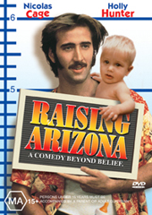 Raising Arizona on DVD
