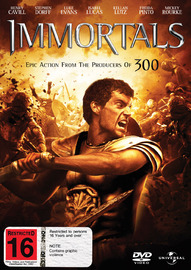 Immortals on DVD