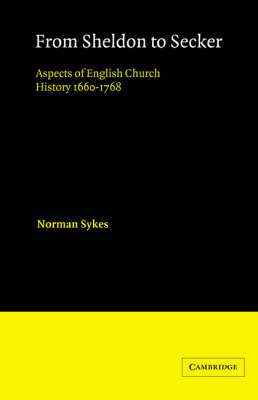 From Sheldon to Secker by Norman Sykes