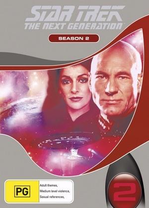 Star Trek: The Next Generation - Season 2 on DVD