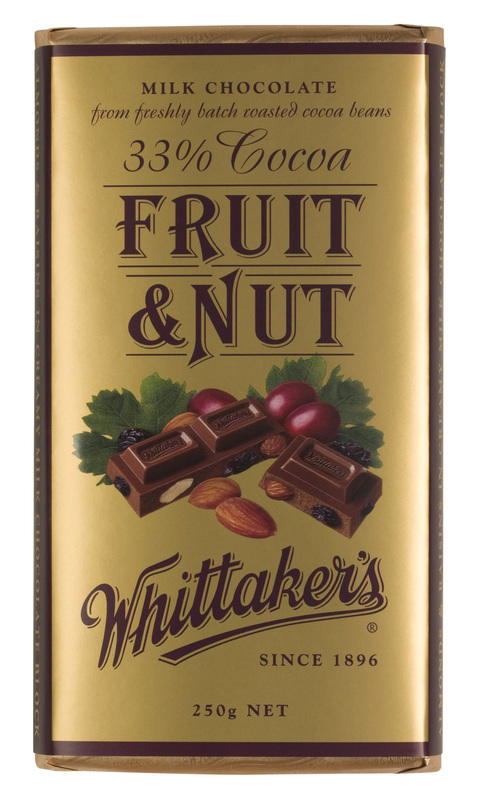 Whittaker's Fruit & Nut Block (250g)