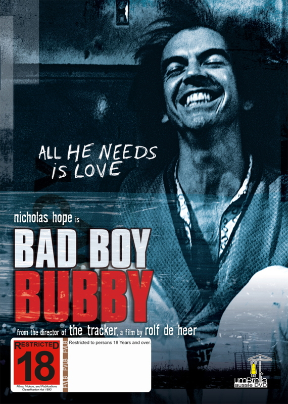 Bad Boy Bubby on DVD