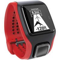 TomTom Multi-Sport Cardio Watch - Black/Red + Cadence Sensor
