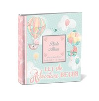 Lady Jayne: Baby Love Photo Album - Let the Adventure Begin