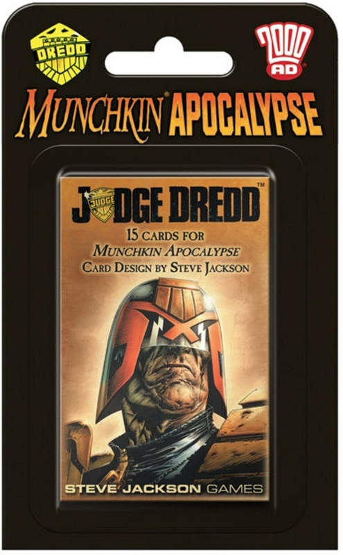 Munchkin: Apocalypse - Judge Dredd Expansion Set