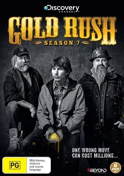 Gold Rush - Season 7 on DVD image