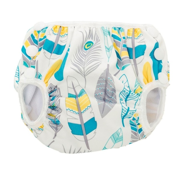Bumkins: Swim Nappy - Feathers (Medium)