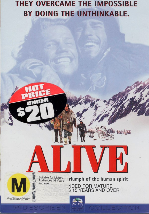 Alive on DVD image