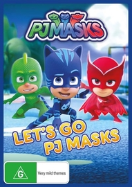 PJ Masks - Let's Go on DVD