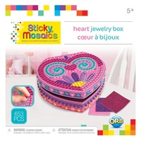 The Orb Factory: Sticky Mosaics - Heart Jewellery Box