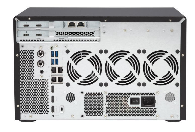 QNAP TVS-1282T3-i7-32G NAS,8+4+2xM.2 SLOT(NO DISK),32GB,I7-7700,THUNDERBOLT3,GbE(4),TWR,2Y image