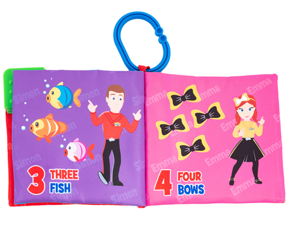 The Wiggles - Activity Soft Book image