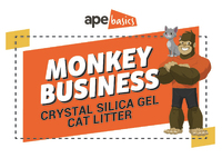Monkey Business Cat Litter - Crystals (20L) image