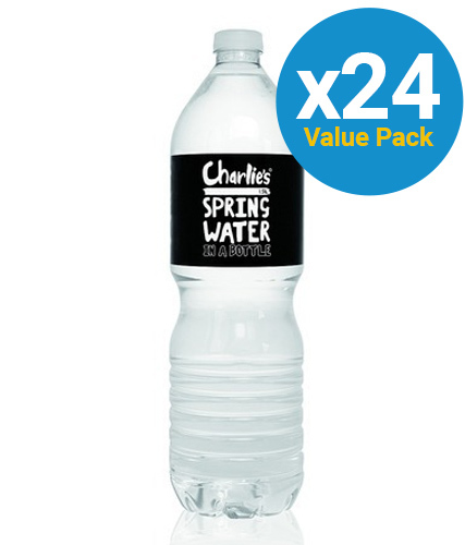 Charlie's Spring Water 600ml (24 Pack) image
