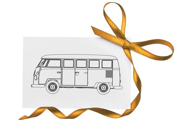 "Corgi: 1/43 VW Camper ""Happy Anniversary"""