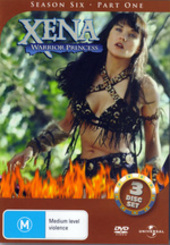 Xena - Warrior Princess: Season 6 - Part 1 (3 Disc Set) on DVD