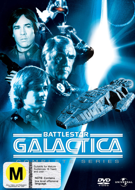 Battlestar Galactica 1978 - Complete Series (7 Disc Set) on DVD