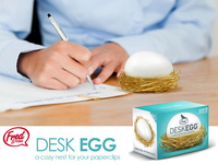 Fred - Desk Egg Paperclip Tidy image