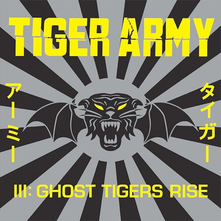 III: Ghost Tigers Rise [Digipak] by Tiger Army image