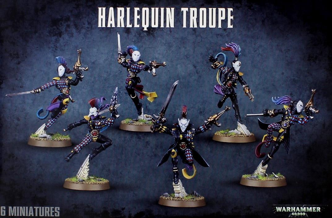 Warhammer 40,000 Eldar Harlequin Troupe image