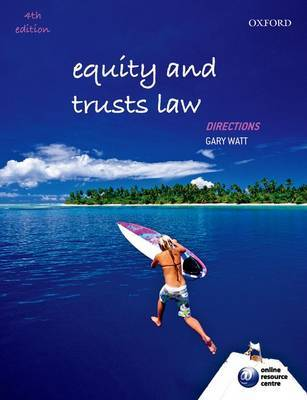 Equity and Trusts Law Directions by Gary Watt image