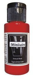 Badger: Minitaire Acrylic Paint - Scorching Red (30ml)