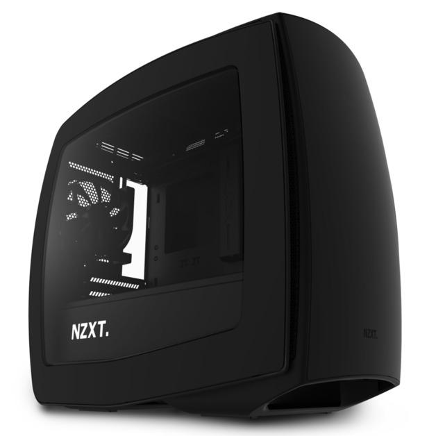 NZXT Manta Mini-ITX Case - Black/Black