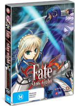 Fate/Stay Night - Vol. 3: Master And Servant on DVD
