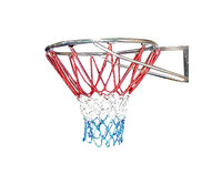 Netball Net - Standard (Red, White, Blue Nylon)