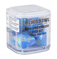 Blood Bowl Reikland Reavers Dice