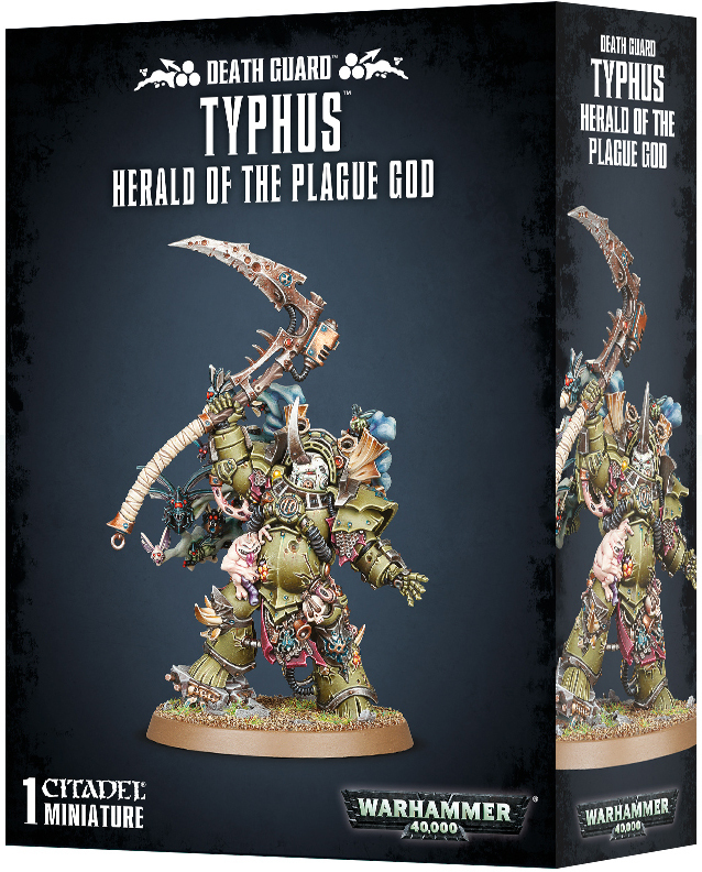 Warhammer 40,000: Death Guard Typhus - Herald of the Plague God image