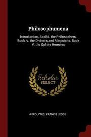 Philosophumena by Hippolytus image