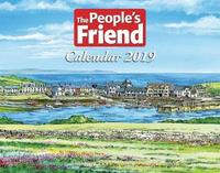 The People's Friend Calendar 2019 by The People's Friend image