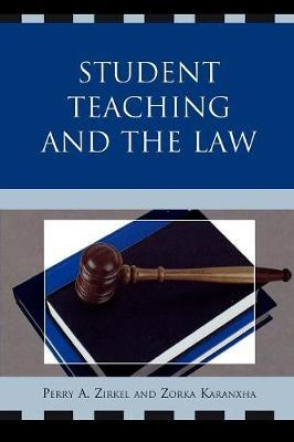 Student Teaching and the Law by Perry A. Zirkel image