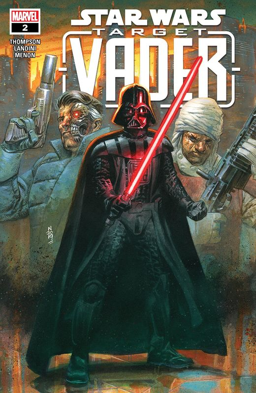Star Wars: Target Vader - #2 (Cover A) by Robbie Thompson