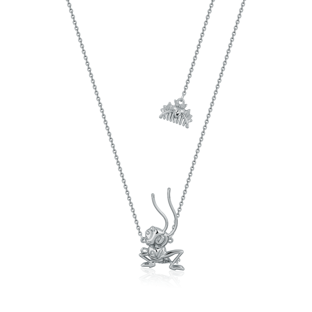 Couture Kingdom: Disney Mulan Cri-Kee Necklace White Gold