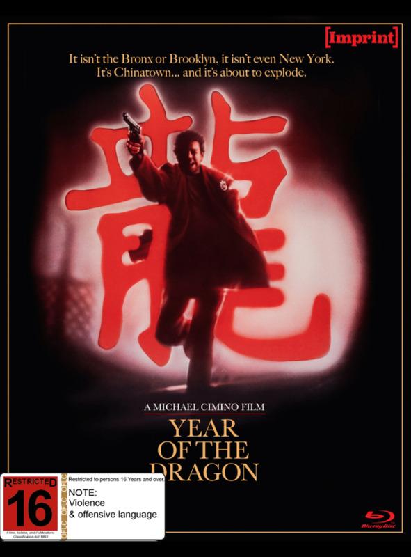 Year of The Dragon (Imprint #24) on Blu-ray
