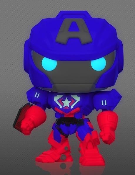 Marvel: Captain America (Mech Strike/Glow) - Pop! Vinyl Figure