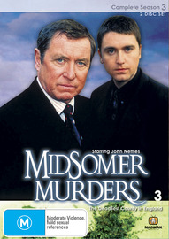Midsomer Murders - Complete Season 3 (Single Case ) on DVD