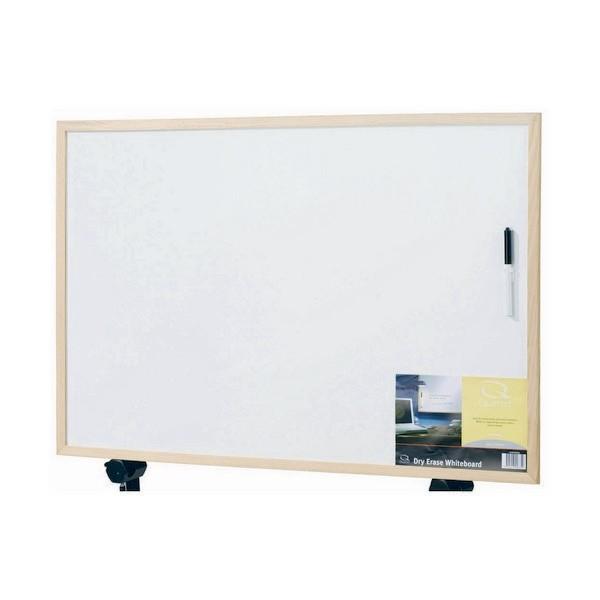 Quartet Pine Frame Melamine Whiteboard - 450mm x 600mm
