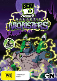 Ben 10 Omniverse - Volume 5: Galactic Monsters on DVD