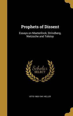 Prophets of Dissent by Otto 1863-1941 Heller image