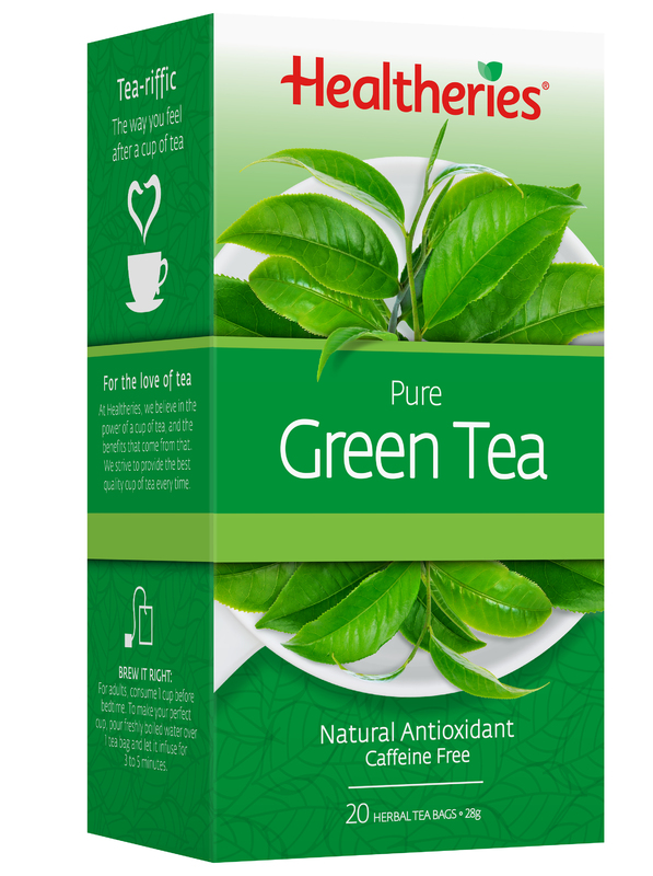 Healtheries Pure Green Tea (Pack of 20)