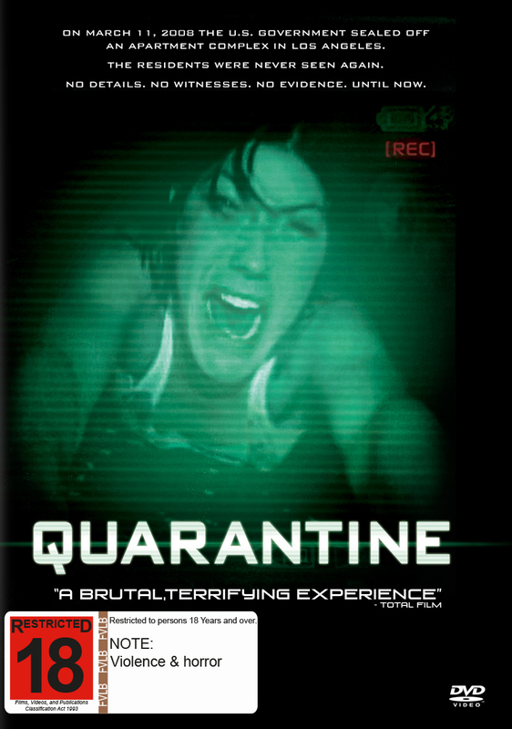 Quarantine on DVD