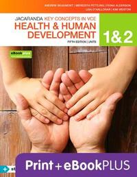 Key Concepts VCE Health and Human Development Units 1&2 5E Ebk & Print+s/On by Andrew Beaumont image
