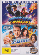 Adventures Of Sharkboy & Lavagirl / Zoom Academy For Superheroes on DVD