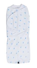 Mum 2 Mum: DreamSwaddle (Small) - Blue Criss-Cross