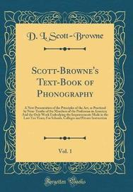 Scott-Browne's Text-Book of Phonography, Vol. 1 by D. L. Scott-Browne image