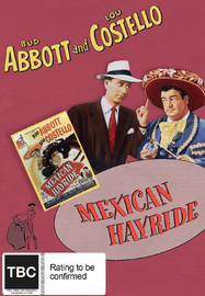 Abbott And Costello: Mexican Hayride on DVD image