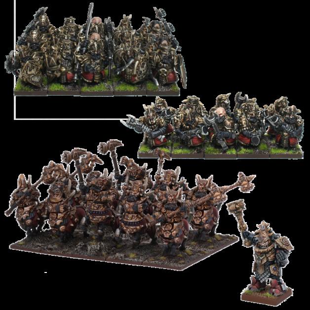 Kings Of War: Abyssal Dwarf Army